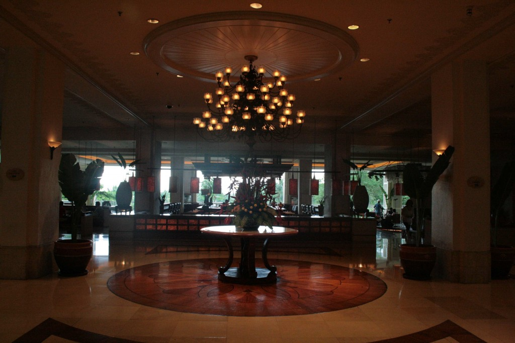 The Lobby of Shangrila Mactan